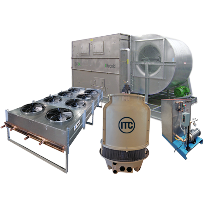 coolling systems for induction equipment