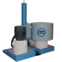 lift and swing melting furnace