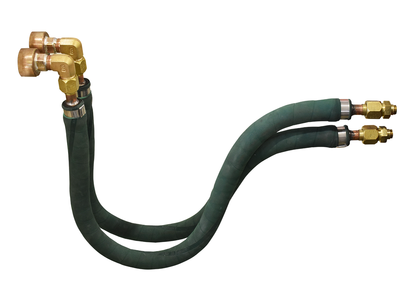 Water-coolling cables for induction systems
