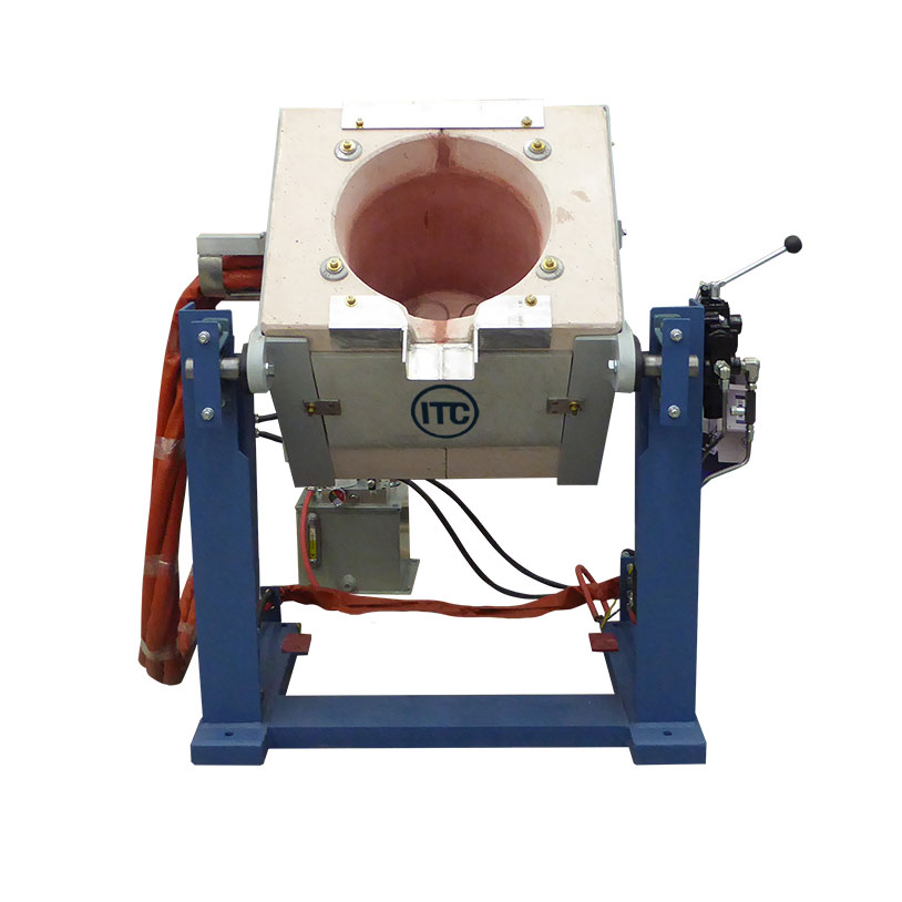 induction melting cube furnace