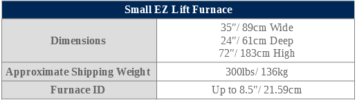 small ez lift specifications