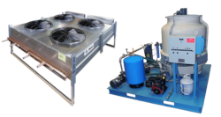 water cooling and recirculating systems