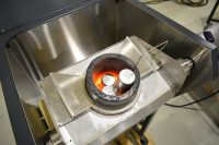 induction melting of stainless steel