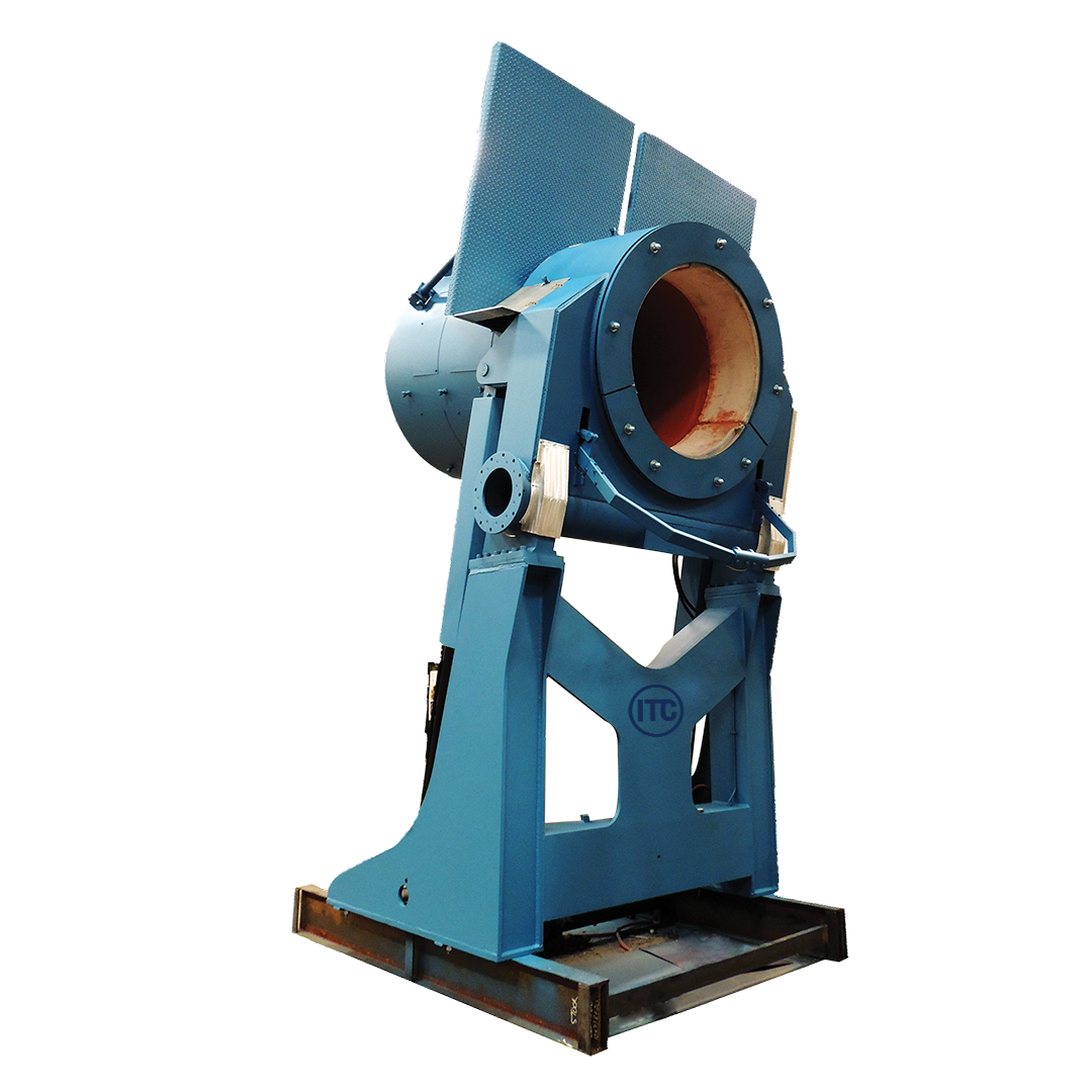 Steel shell furnace from ITC