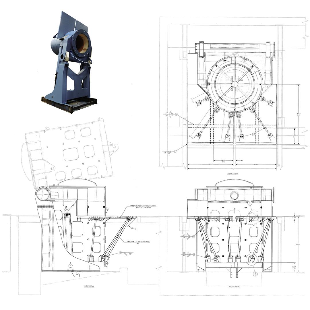 steel shell furnace details