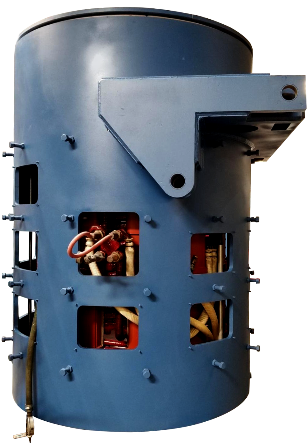 complete steel shell furnace