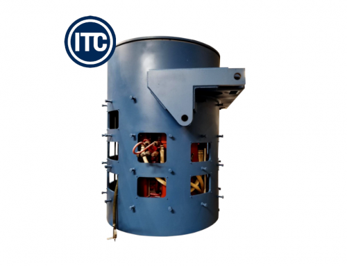 New Steel Shell Furnace for Aluminum Melting