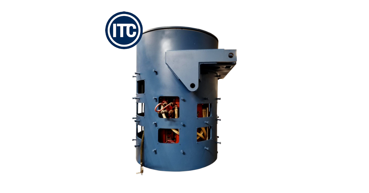 steel shell furnace designed by ITC