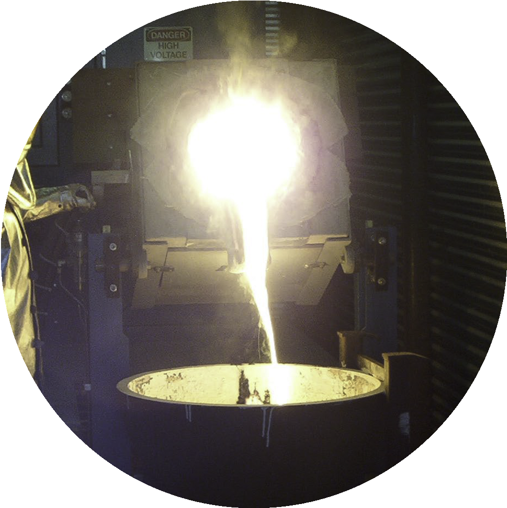 induction smelting