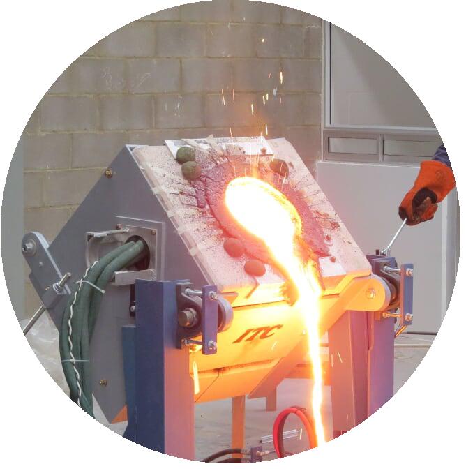 cube melting furnace