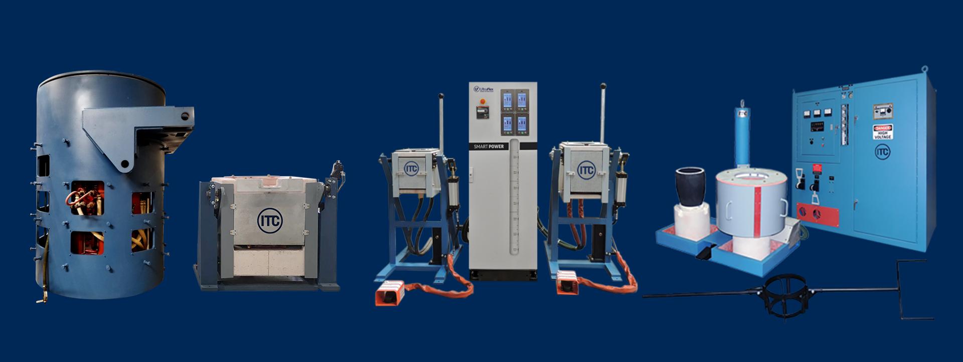 induction melting equipment image
