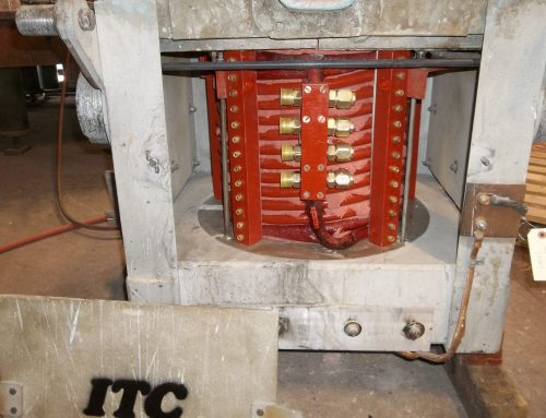 ITC rebuild induction melting furnace and coil