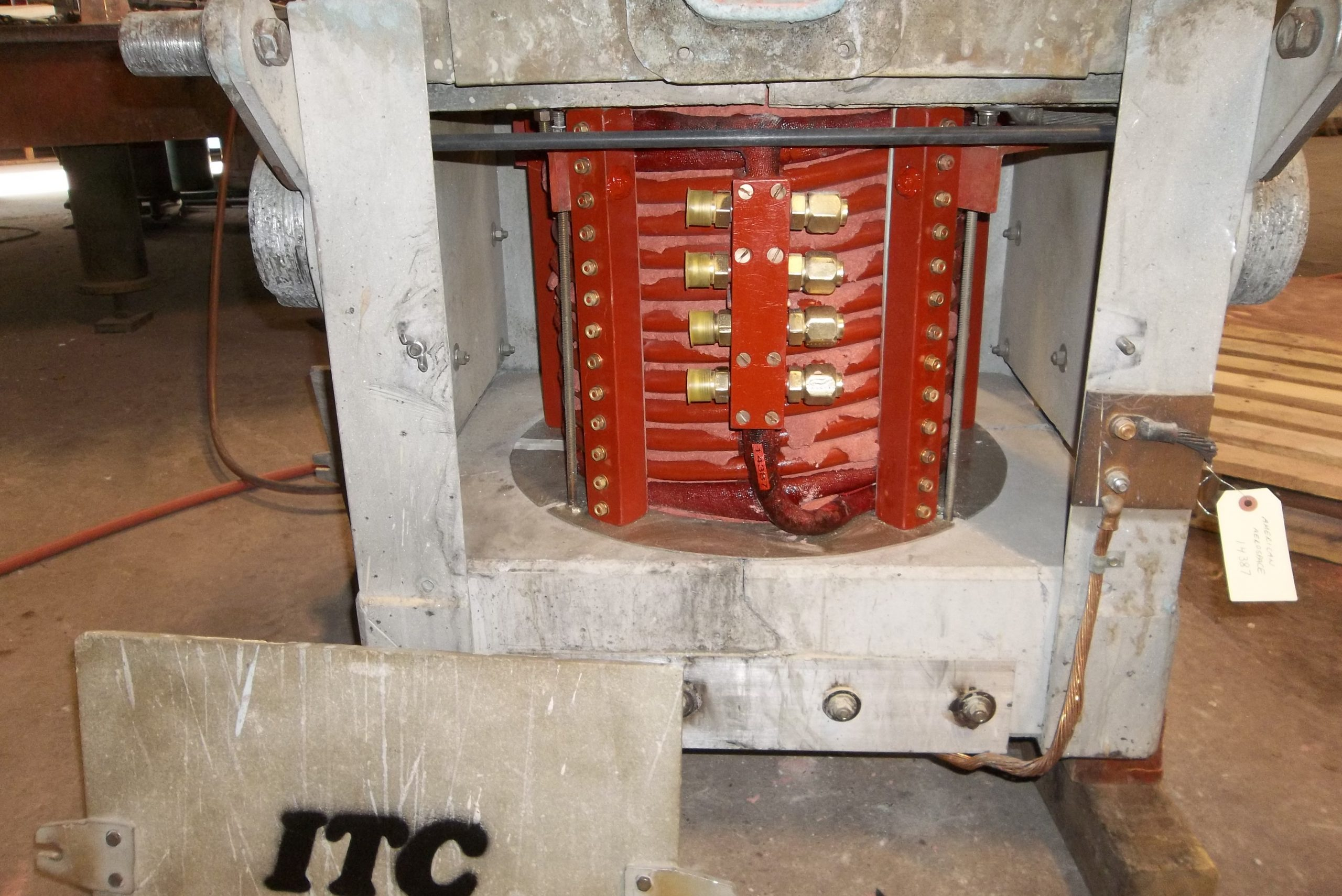 Rebuild of 300lb box furnace and coil-after