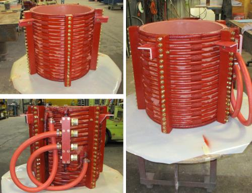 Rebuild of a 500lb induction coil