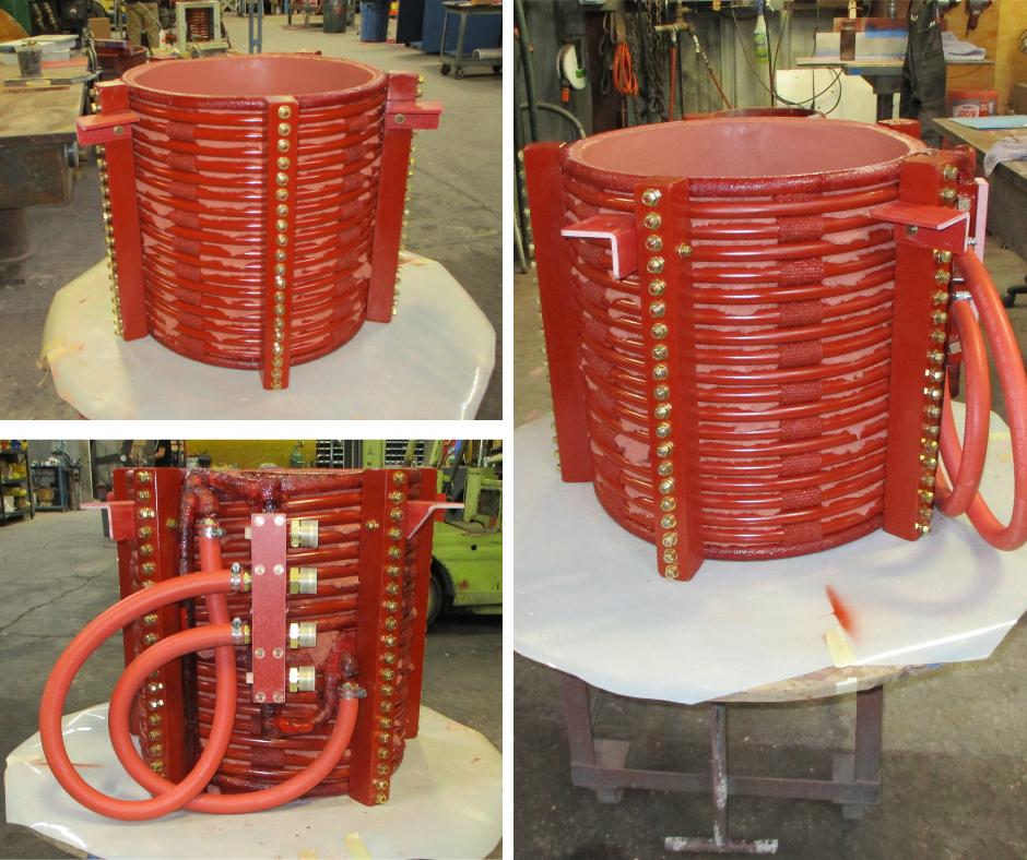 500lb induction coil after rebuild